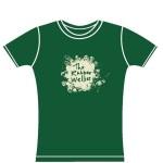 RW tee green